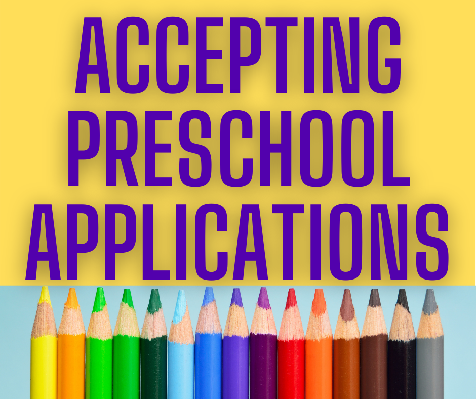 Ellicott Preschool Accepting Applications!